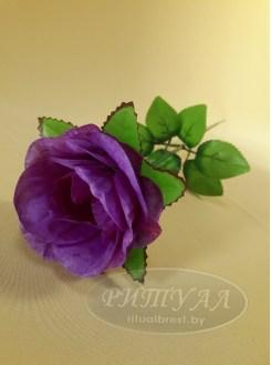 Роза бутон с розеткой
